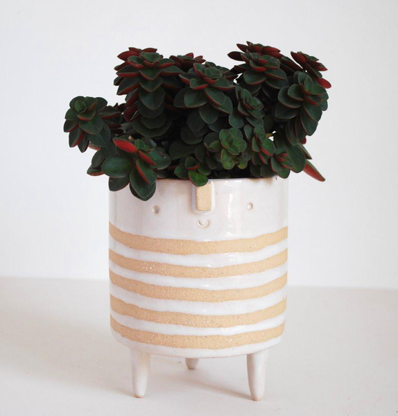 TRIPOD PLANTER - STRIPE