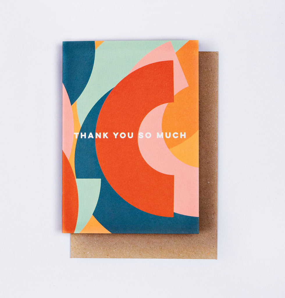 The Completist THANK YOU SO MUCH card. £3.50 wagreen.co.uk