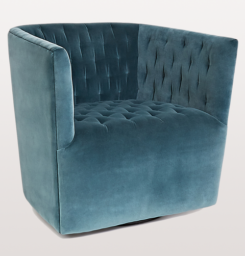 VERTIGO TEAL SWIVEL CHAIR - EX-DISPLAY