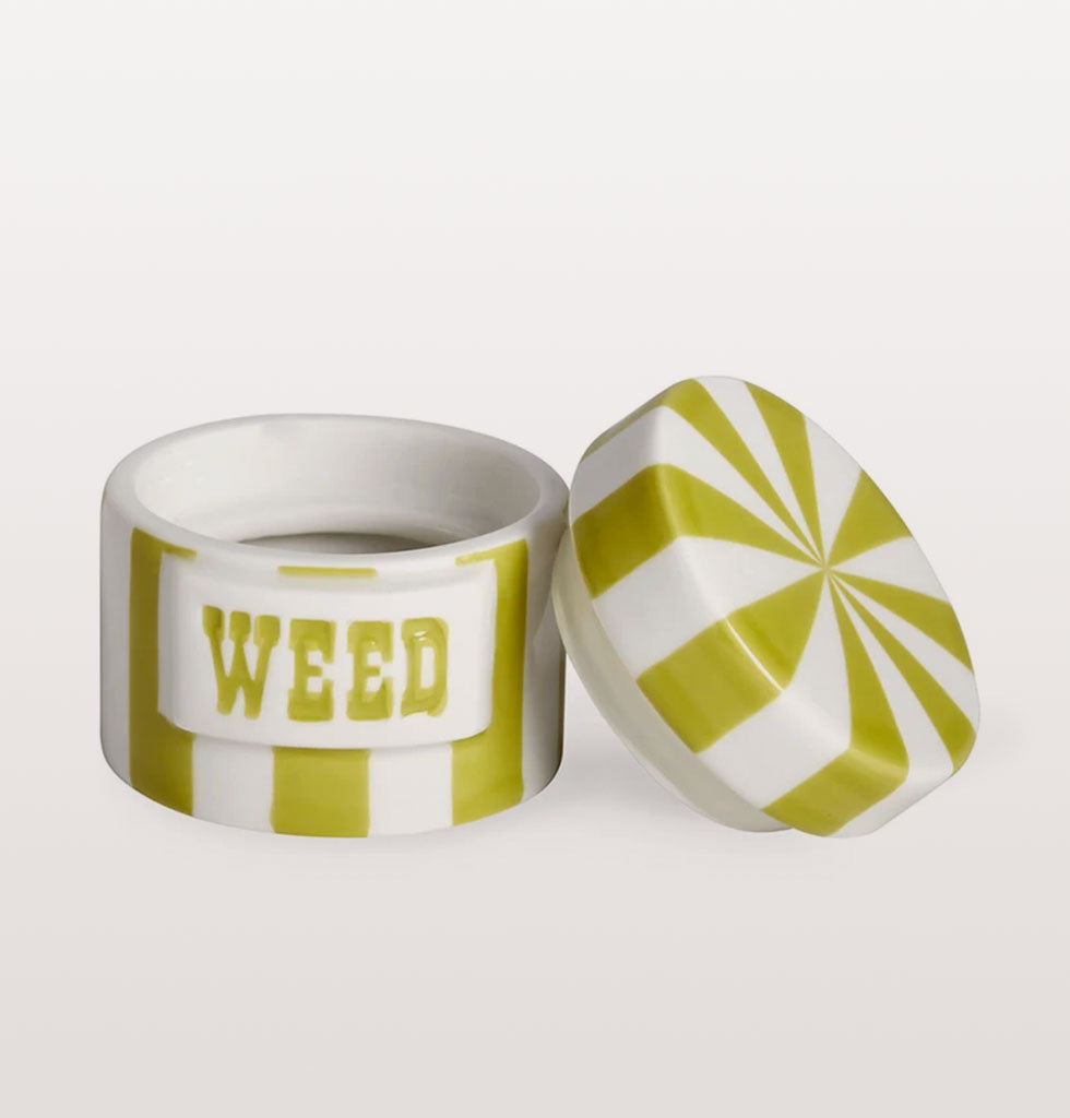 WEED VICE CANISTER LIME