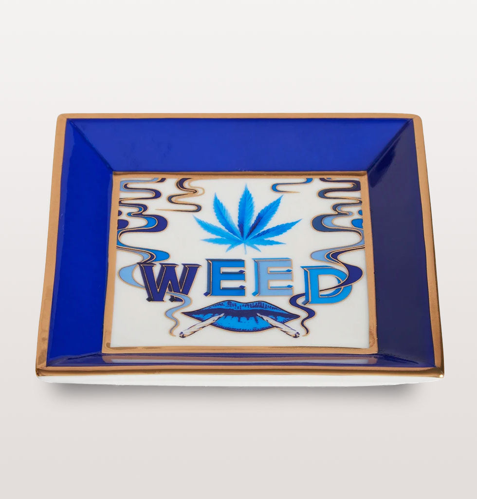 Druggist Square WEED tray by Jonathan Adler. £48 wagreen.co.uk