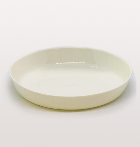 IST London, pasta bowl plate mont Blanc white porcelain tableware, handmade slip cast plate, milk white dinnerware