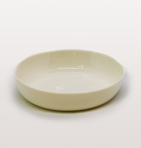 CEREAL BOWL WHITE