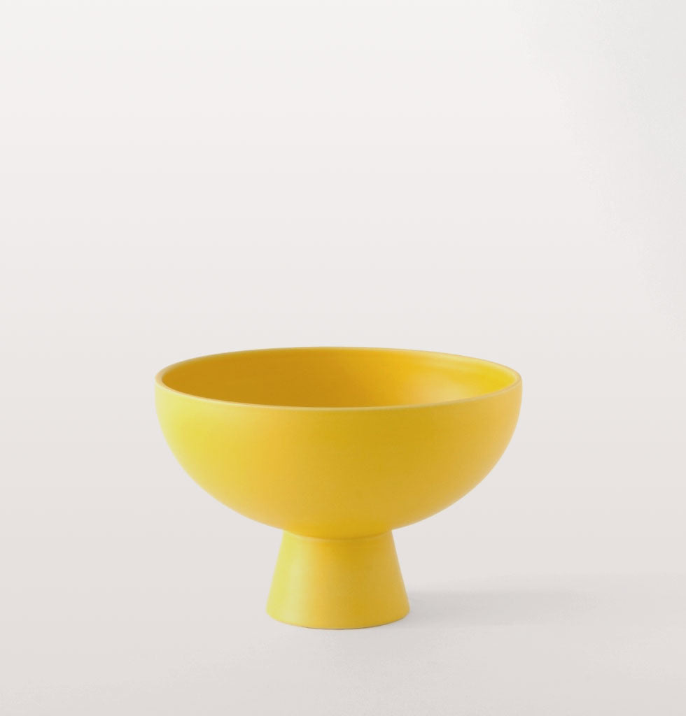 Raawii yellow large Strøm bowl. £83 wagreen.co.uk
