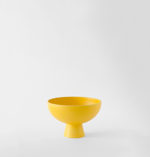 Bright yellow small bowl or trinket dish