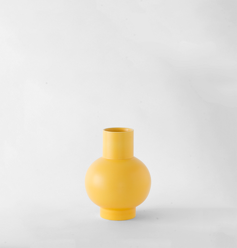 SMALL STROM VASE YELLOW