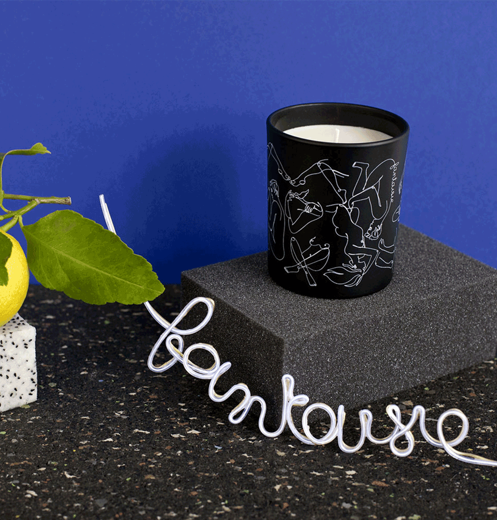 FANTAISIE LUXURY SPICY SCENTED CANDLE by Label Bougie