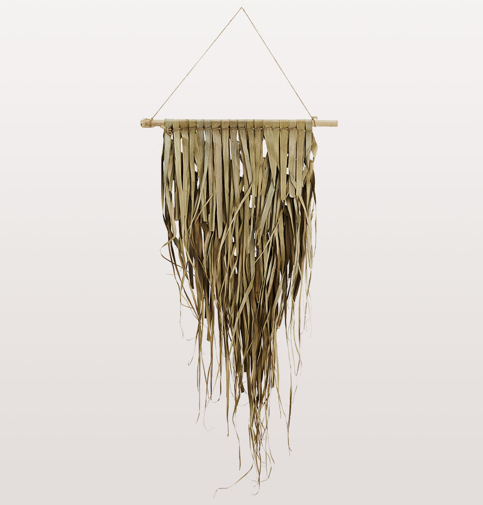 MINI PALM LEAF WALL HANGING