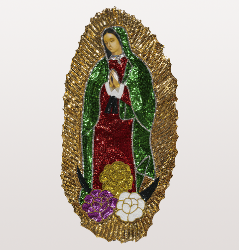 GUADALUPE SEQUIN WALL DECORATION