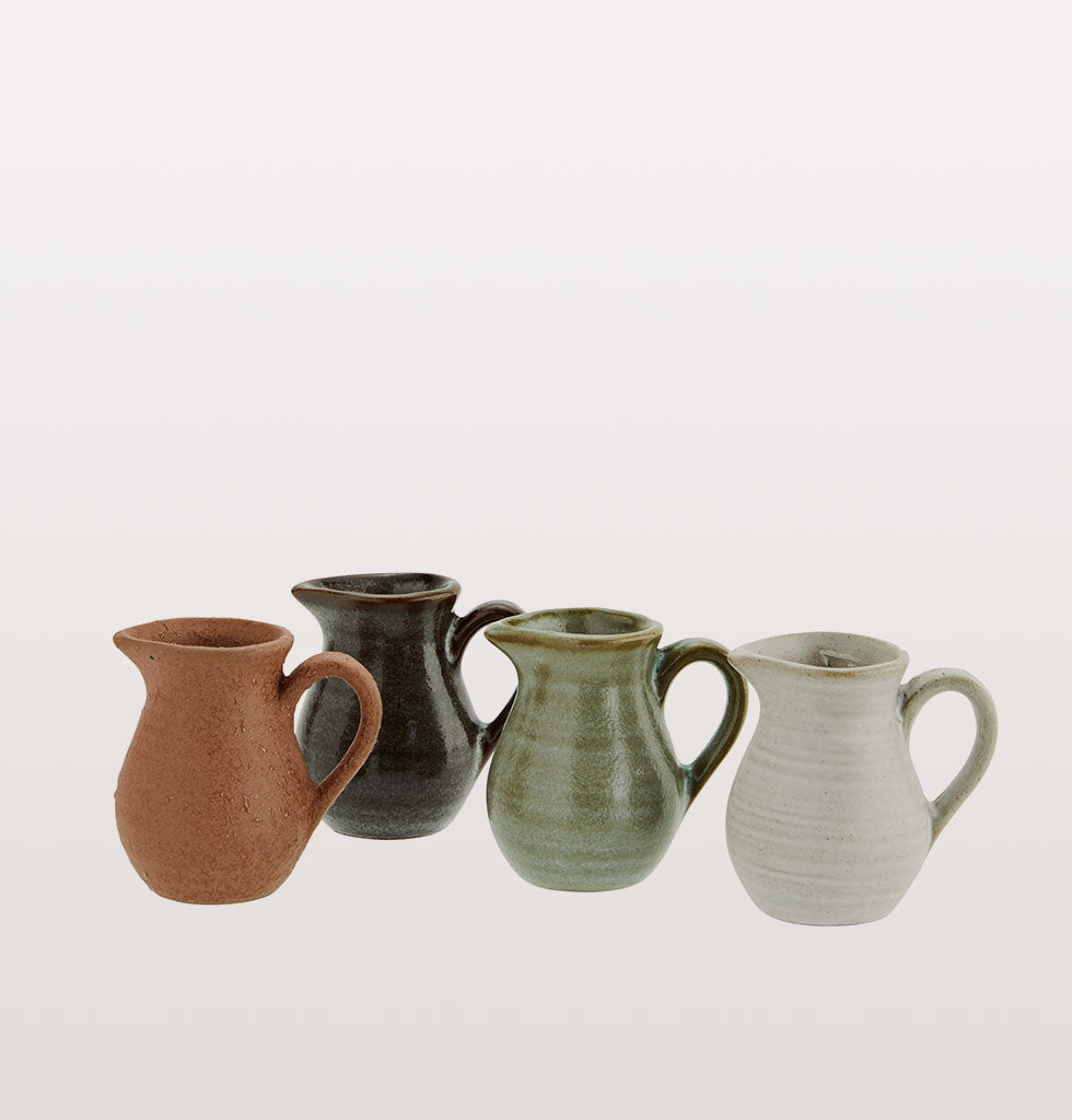 MINI POTTERY JUGS