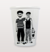 Male couple cup with two boys in love by Helen B