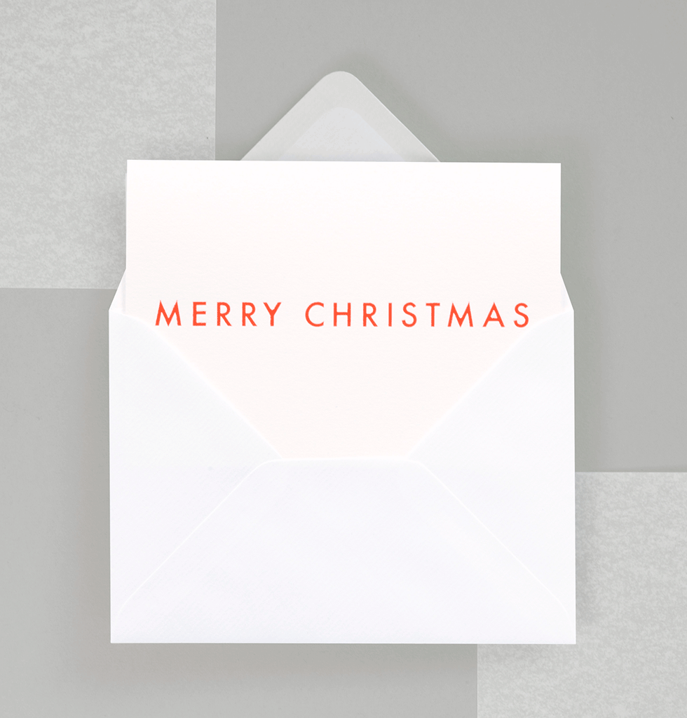 MERRY CHRISTMAS CARD by OLA STUDIO