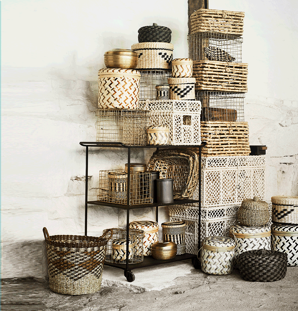 Madam Stoltz storage baskets