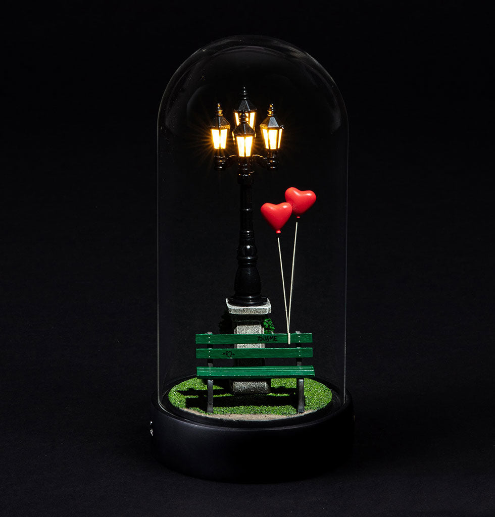 W.A.GREEN | MARCANTONIO | LOVE LIGHT | MY LITTLE VALENTINE TABLE LAMP