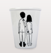 NAKED COUPLE BACKS CUP