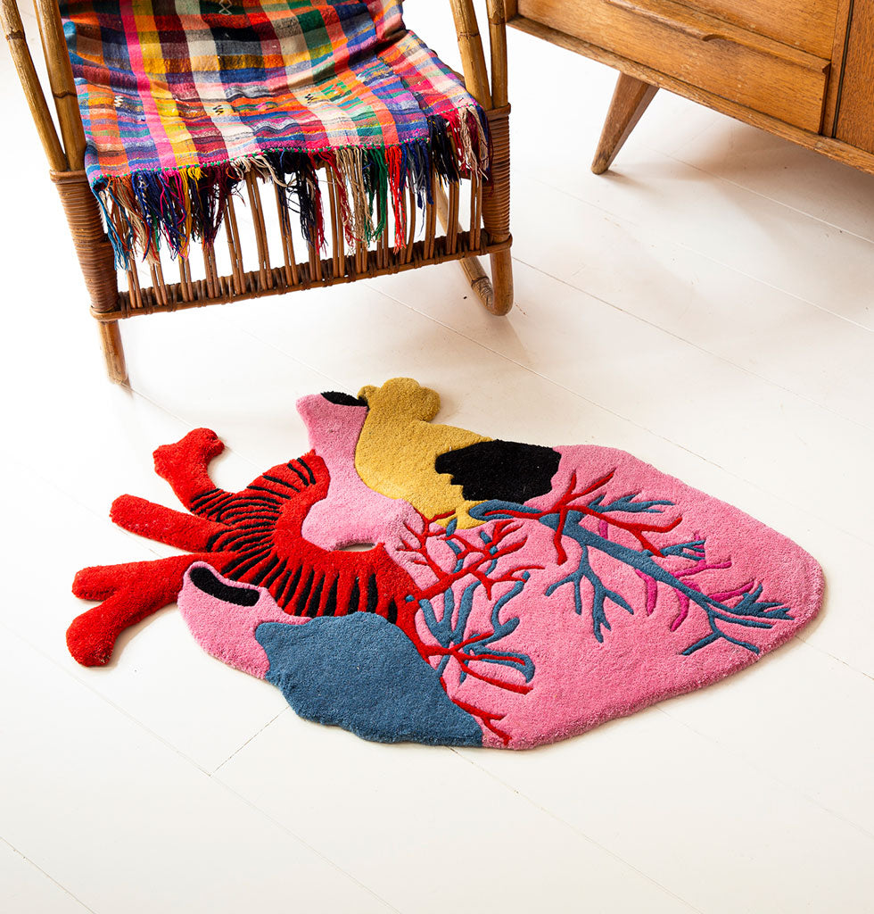 Kitsch Kitchen Corazon rug from wagreen.co.uk