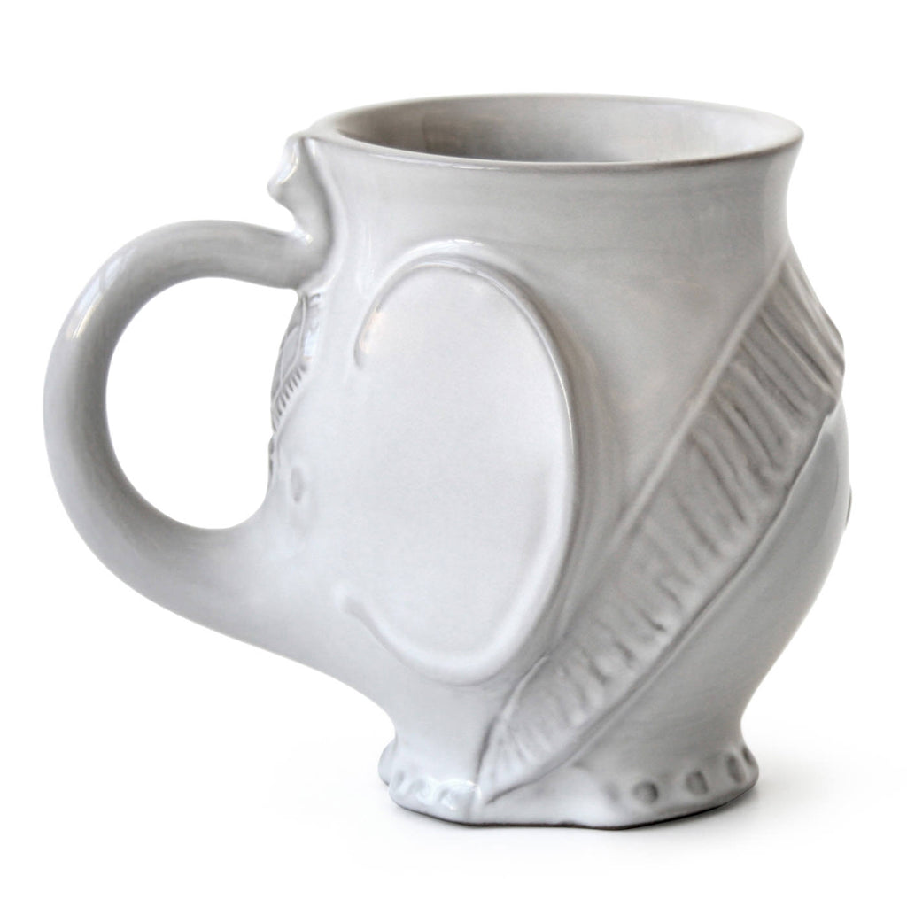 UTOPIA WHITE ELEPHANT MUG