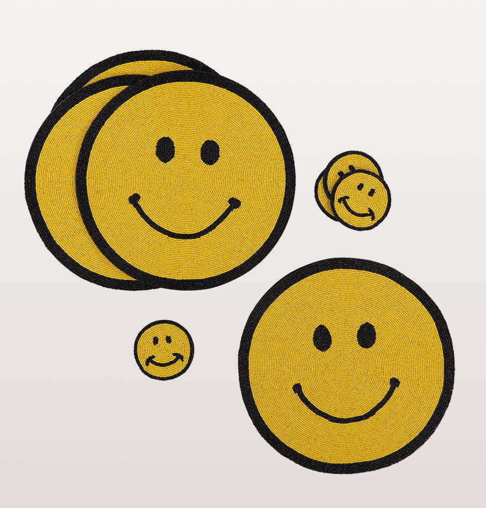 SMILEY PLACEMAT SET