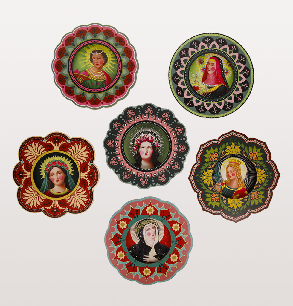 Sant Honore patron saint wall plaques. 6 designs