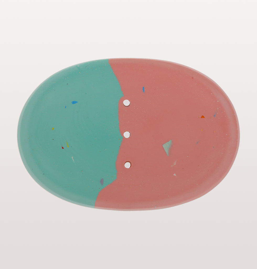W.A.GREEN x Concrete Candy soap dishes. Blue and Pink. £25 wagreen.co.uk