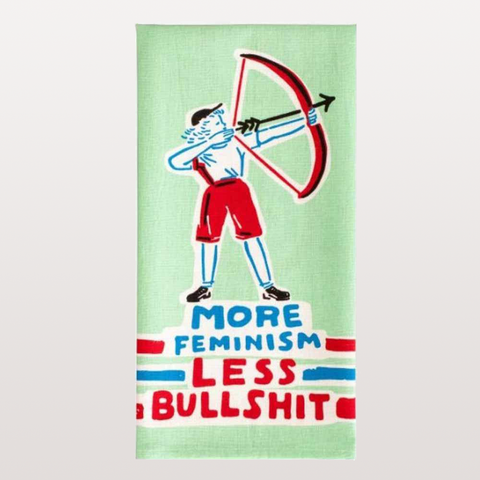 MORE FEMINISM TEA TOWEL