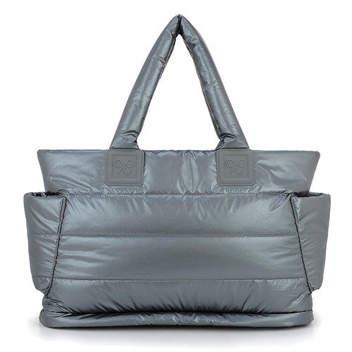 Airy Tote Baby Diaper Bag -Smokey Grey 銀河灰 (L)