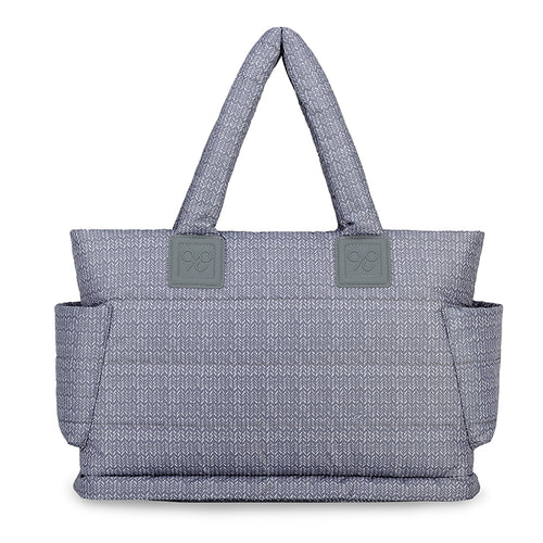 Airy Tote Baby Diaper Bag - Knitted Grey 羽織灰(L)