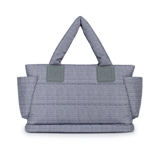 Tote Baby Diaper Bag - Knitted Grey 羽織灰 (M)