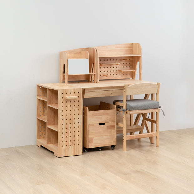 【Explorista】 Wooden Desk & Chair Complete Set 好好學成長桌椅旗艦組