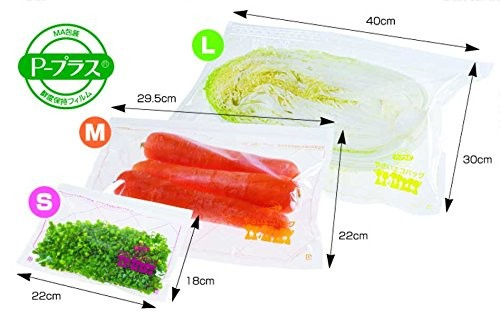 Reusable BPA Free Produce Storage Bags (3-Pack)