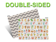 Parklon Portable Play Mat - Double-Sided ABC / Urban Zig Zag