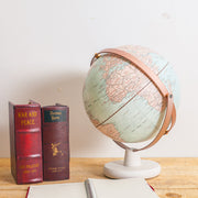 "10"" Rose Gold Antique Desktop Globe (EN)"