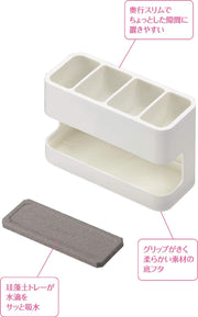 Drying Cutlery Utensil Organizer 珪藻土餐具收納吸水架