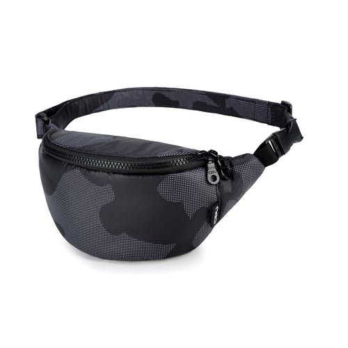 CiPU Airy Belt Bag - Black Camo (XS)