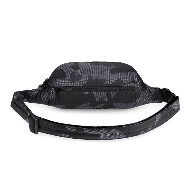 CiPU Airy Belt Bag - Black Camo