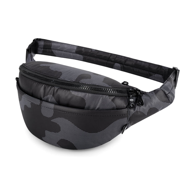 Airy Belt Bag - Black Camo (M)
