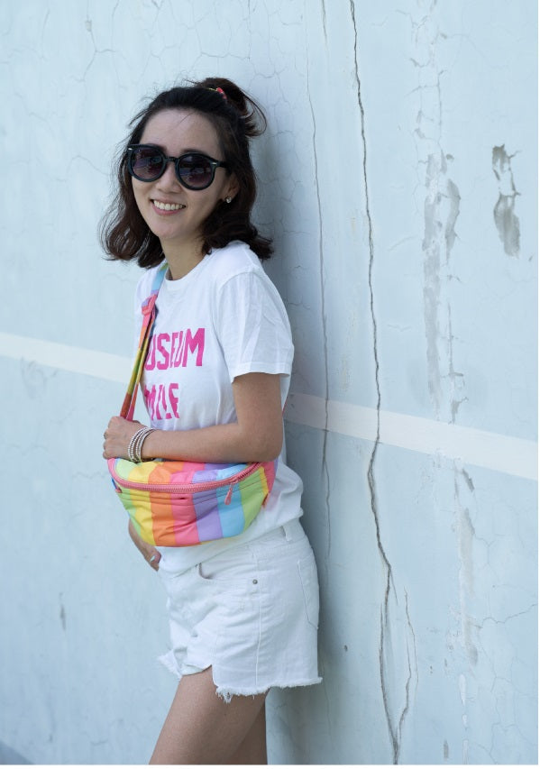 CiPU Airy Belt Bag - ECO Rainbow