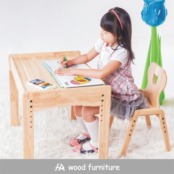 【Grow with Me Desk-Chair Bundle】幼兒成長桌+椅組