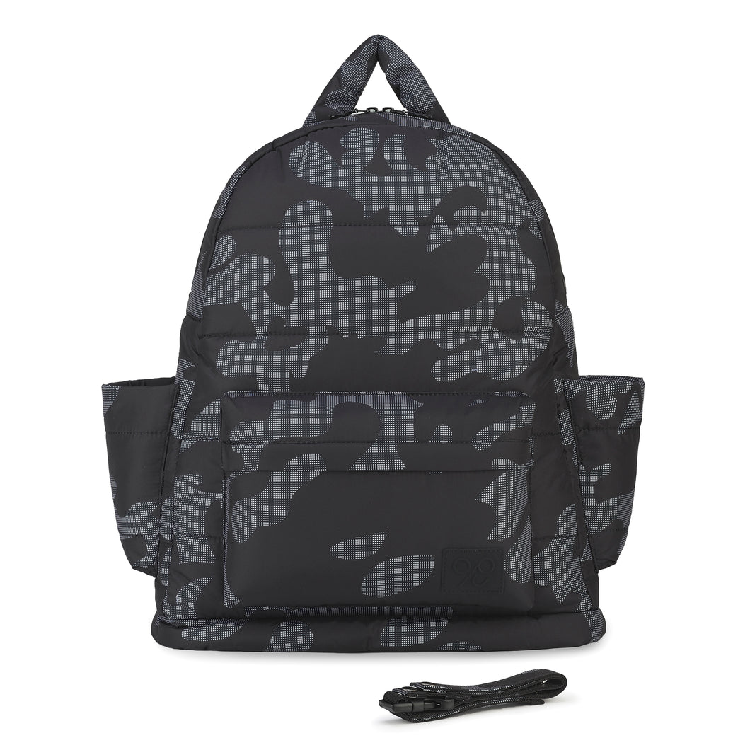 Airy Backpack Baby Diaper Bag - Black Camo 黑迷彩 (L)