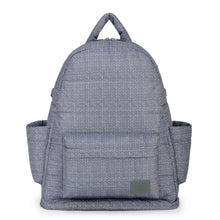 Airy Backpack Baby Diaper Bag - Knitted Grey 羽織灰(L)