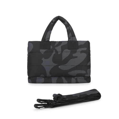 Airy Tote Baby Diaper Bag - Black Camo 黑迷彩 (S)