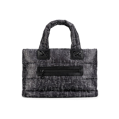Tote Baby Diaper Bag - Black Tweed ECO黑珍呢 Small (現貨)