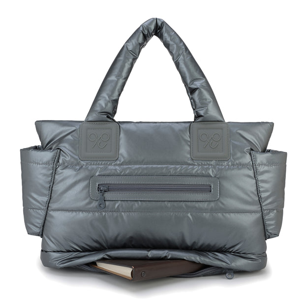 Airy Tote Baby Diaper Bag - Smokey Grey (M)