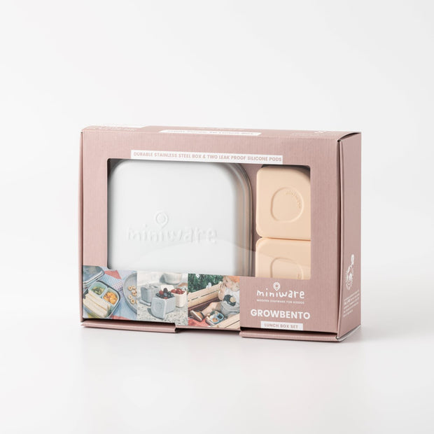 Grow Bento Lunch Set 多功能成長便當盒組 (5 Color Options)
