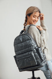 Airy Backpack Baby Diaper Bag - Smokey Grey (L)