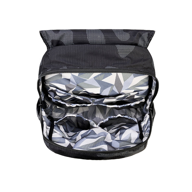 Light Multi-Purpose Backpack - Black Camo (L)