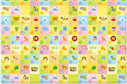 Parklon Reversible Pure Soft Play Mat - Hello Bear Smiletown / Hello Bear ABC