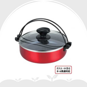 IH Sukiyaki Shabu Hotpot with Glass Lid 日本加大款IH不沾壽喜鍋