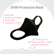 SH99 Protective Masks - Adults in 5 Pack