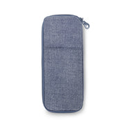 Flatware Utensil Travel Case (L) - ECO Denim Blue